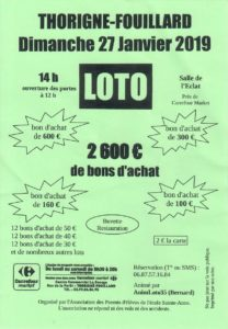 Loto Flyer 2019